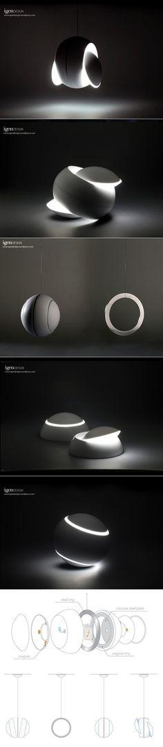 DESIGN >>> Lampe Nissyoku par igendesign - Journal du Design:
