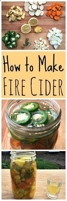 Learn how to make fire cider, a spicy immune boosting elixir!