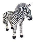 Need this zebra with a tutu!! Melissa & Doug Zebra - Plush