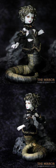 sugarble Monster Medusa Ball jointed doll