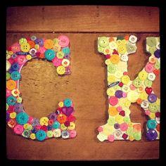 Button letters