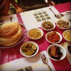Amazing Iraqi food for lunch #birthright #israel #jerusalem -