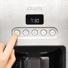 KRUPS KM442D Control Line Programmable Coffee Make