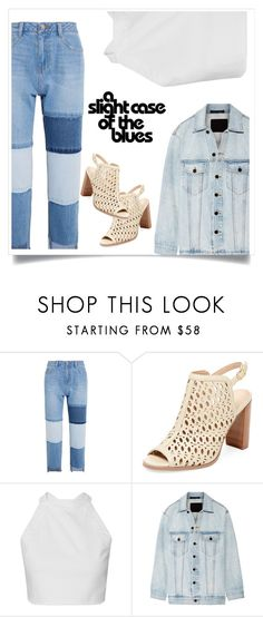 """denim jackets"" by bluedewred ❤ liked on Polyvore featuring Steve J & Yoni P, Renvy and Alexander Wang"