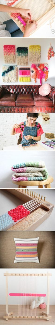 Looking for a creative project to tackle this weekend? What about weaving? Check out expert advice and visual inspiration in our how-to post on the Etsy Blog — then shop for #DIY kits and supplies on . #etsy https://blog.etsy.com/en/2015/learn-to-weave-tips-and-advice-from-etsy-experts/?utm_content=bufferd5349&utm_medium=social&utm_source=pinterest.com&utm_campaign=buffer