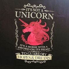 It's not a #unicorn...