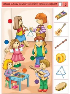 Crafts,Actvities and Worksheets for Preschool,Toddler and Kindergarten.Lots of worksheets and coloring pages. Kids Learning Activities, Brain Activities, Toddler Learning, Preschool Worksheets, Music Lessons For Kids, Music For Kids, Music Education, Kids Education, Music Crafts