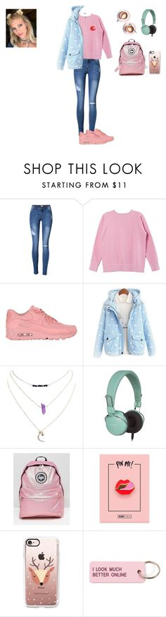 """Başlıksız #401"" by belinda-bailey ❤ liked on Polyvore featuring Isabel Marant, NIKE, Wet Seal, Martha Stewart, Dot & Bo, Hype, Casetify and Various Projects"
