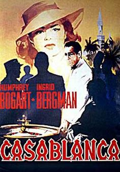 Movie poster Casablanca for sale