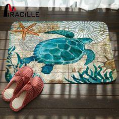 Doormat-Outdoor-Indoor-Entrance-Rug-Carpet-Blue-Marine-Sea-Turtle-Seahorse-Whale