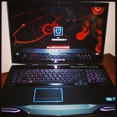 "Image 1 of my upgraded #Alienware M18xR2 #Gaming #Mobile #Desktop #Notebook / #Laptop #Overclocked #Intel® Core™ i7-4930MX #processor (8MB Cache, 4.3GHz w/ Intel® #TurboBoost) #Microsoft #Win7 18.4"" WLED FHD 1920X1080 #TrueLife #Display 32GB Dual Channel DDR3L at 1600MHz 3TB 7,200RPM Hard Drive + 256GB #SSD #NVIDIA #GeForce GTX 765 HD 5.1 Audio #Dolby #HomeTheater v4 2.1 #Speaker w/ #Subwoofer #Audio Powered by #Klipsch® 7.1 Digital Audio out #HDMI out #3D #Bluray Burner Combo Drive"