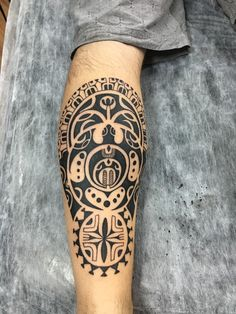Tribal Forearm Tattoos, Best Leg Tattoos, Tribal Tattoos For Men, Body Art Tattoos, Tattoos For Guys, Samoan Tattoo, I Tattoo, Marquesan Tattoos, Symbolic Tattoos