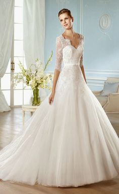 winter-wedding-dress-long-sleevess-san-patrick-bridal-2014-HALIMA_B.jpg (660×1071)
