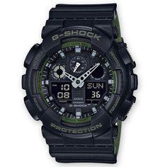 Reloj Casio G-Shock Hombre GA-100L-7A2ER. Relojes Casio G-Shock