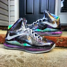Meteor Shower Lebron X by Kickasso