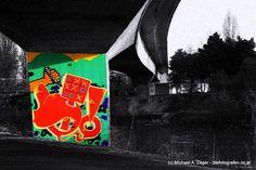 Stadtmalerei - Morbides Wien in Bunt Tic Tac Toe, Graffiti, Vienna, Bunt, Playing Games, Canvas, Graphite, Graffiti Illustrations, Graffiti Artwork