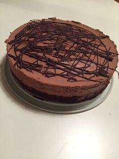 Chocolate mousse cake | Simple and delicious