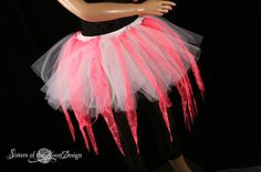 Hey, I found this really awesome Etsy listing at https://www.etsy.com/listing/53380069/coral-fairy-ragged-tutu-adult-skirt