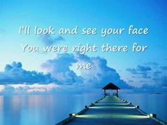 Faith Hill - There you'll be (lyrics) - YouTube
