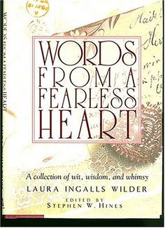 Loved Laura Ingalls Wilder books as a child.