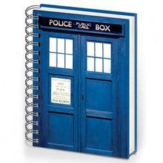 Doctor Who TARDIS Muistilehtiö - AlphaGeek 6 e