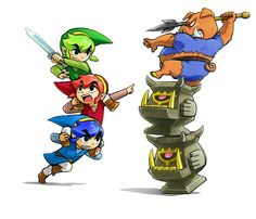 The Legend of Zelda: Tri Force Heroes - Oct. 13th screens