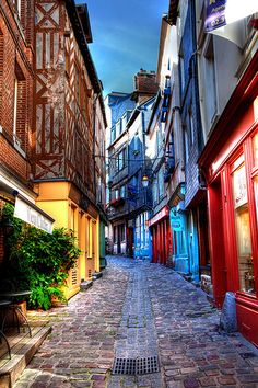 Honfleur ~ Places To Travel, Places To See, Wonderful Places, Beautiful Places, Places Around The World, Around The Worlds, Normandie France, Ville France, Beaux Villages