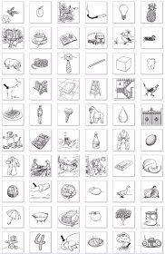 Mots en image Plus de 200 images à colorier, triées par nom, pour illustrer vos exercices et affichages ou créer un abécédaire.