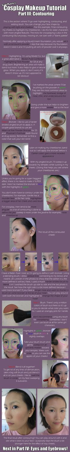 Cos Makeup Tutorial Part III by the-sushi-monster.deviantart.com on @deviantART