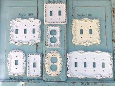Light Switch Cover, Cast Iron Decor, Victorian Home , Romantic Home, STYLE 107...