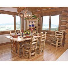 Found it at Wayfair - Aspen Grizzly Dining Table