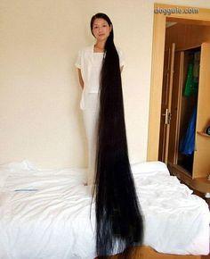 Mujeres con el pelo muy largo   Curiosidades, Dogguie.com. Really long hair ...