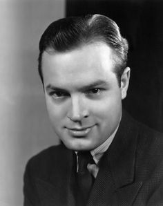 """Bob Hope is a well-known comedian. He really impressed me in his works """"My Favorite Blonde as Larry and as Eddie Foy in """"The Seven Little Foys"""""""