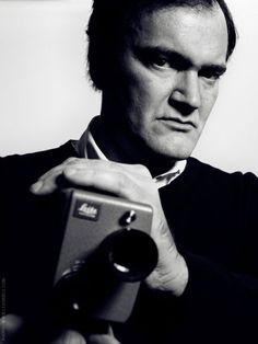 Quentin Tarantino- hands down favorite director! He makes masterpieces, not just movies.