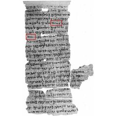 Nash Papyrus fragments acquired in Egypt in 1898 from 150-100 BC. Jehovah's name appears throughout #Tetragrammaton  #Jehovah #Yahweh #Godsname #DivineName #Bible