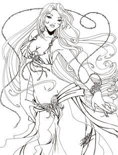 :COMMISH: Aphrodite by Tsuzukikun.deviantart.com on @DeviantArt