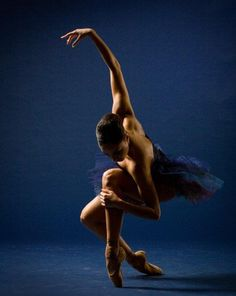 Ballet Dancer in Blue