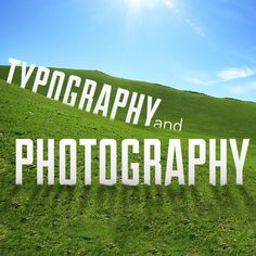 The Right Way to Incorporate Typography with Photography -- Good to know for book covers.
