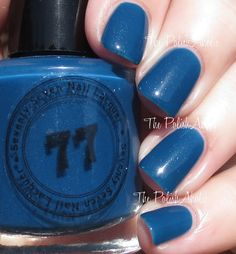 The PolishAholic: First Impression Friday: Seventy Seven Nail Lacquer - Deluxe
