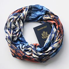 *NEW* ~ Ensenada Summer Passport Scarf >>> cooling fabric perfect for summer travel!