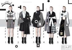 Fashion Portfolio Layout, Fashion Design Sketchbook, Fashion Sketches, Fashion Design Template, Dress Design Sketches, Fashion Illustration Dresses, Illustration Mode, Fashion Figures, Fashion Project