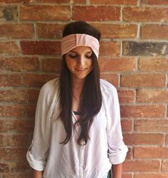 Turban Wrap Headband In Dusty Pink Women's Fashion by 7andco, $14.99