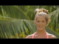 Video DIY the perfect Top Knot & Beach Bun with Monyca Byrne Wickey in Tahiti for ROXY Summer 2013