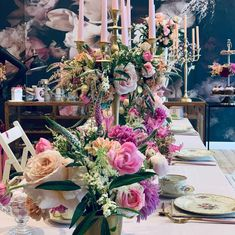 """Berlin Flower School op Instagram: """"The whole Marie Antoinette tea set up. Swipe for more pictures. After creating this beautiful table it is such a delight to sit down with…"""" Marie Antoinette, More Pictures, Tea Set, Veronica, Berlin, Floral Wreath, Wreaths, Table Decorations, School"""