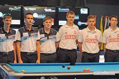 Team Poland defeated Team Russia - http://thepoolscene.com/euro-tour/team-poland-defeated-team-russia - Kevin Schiller, Konrad Kleinsmit, Marharyta Fefilava, Michael Muklewicz, Sergey Lutsker - Euro-Tour, Junior Billiards