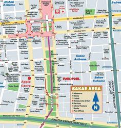 nice Nagoya Map Tourist Attractions