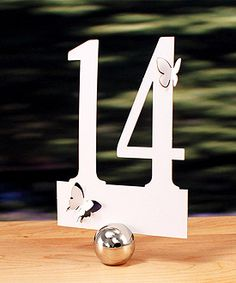 butterfly cut out table number $8.45, wedding table numbers, wedding table decorations