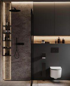 Washroom Design, Toilet Design, Bathroom Design Luxury, Modern Bathroom Design, Interior Design Games, Bathroom Inspiration, Small Bathroom, Inspirer, Floor Space