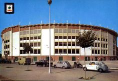 Para @juancarloszr La plaza de Toros Monumental de #Huelva en el antiguo recinto colombino (Hoy desaparecida)