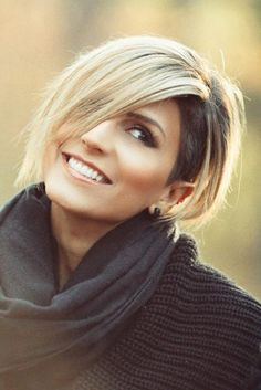 Asymmetrical Bob Hairstyles - Side Shaved Bob